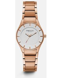 Kenneth Cole - Rose Gold-tone Stainless Steel Watch - Lyst