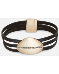 Kenneth Cole - Magnetic Slider Crystal Bracelet - Lyst