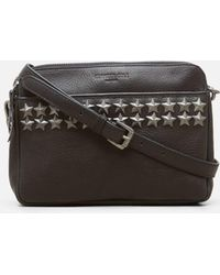 Kenneth Cole - Star Stud Large Leather Crossbody - Lyst