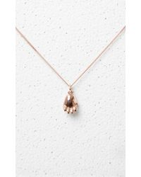 KENZO - Tiger Paw Necklace - Lyst