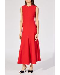 Khaite - Fit And Flare Dress - Lyst