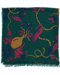 Lizzie Fortunato - Bird And Vases Scarf - Lyst