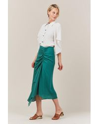Veronique Leroy - Rouched Skirt - Lyst