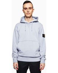 Stone Island | Hoodie Sweat-shirt Lavender | Lyst