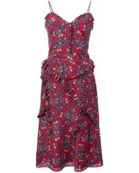 Altuzarra - Menara Floral-print Dress - Lyst