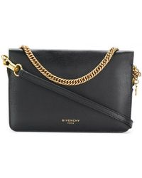 Givenchy - Cross 3 Leather Crossbody Bag - Lyst