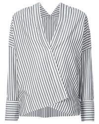 Nili Lotan - Sabine Striped Cotton Shirt - Lyst