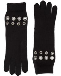 Sonia Rykiel - Grommet Detailed Gloves - Lyst