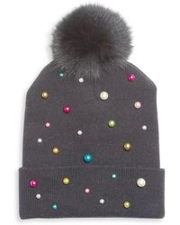 House of Lafayette - Milou Pearl Beanie - Lyst