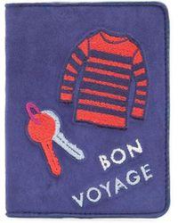 Lizzie Fortunato | Bon Voyage Passport Case | Lyst
