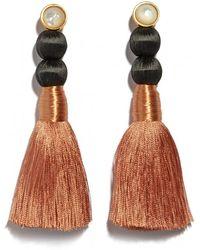 Lizzie Fortunato - Modern Craft Earrings In Rose - Lyst