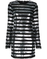 RTA - Crystal Mini Dress - Lyst