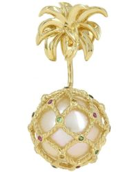 Yvonne Léon - Mini Pineapple Earring - Lyst