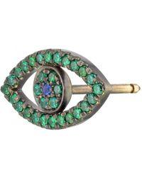Shelly Zucker Jewelry - Evil Eye Earring With Stones - Lyst