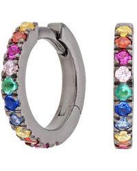 Shelly Zucker Jewelry - Small Hoop Earring - Set Of 2 - Lyst