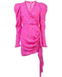 Magda Butrym - Carlton Floral Silk Mini Dress - Lyst