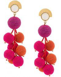 Lizzie Fortunato - Hanging Drop Earring - Lyst