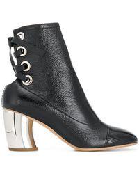 Proenza Schouler - Lace Back Ankle Boots - Lyst