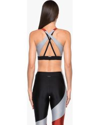Koral - End Point Sprint Sports Bra - Rouge/silver - Lyst