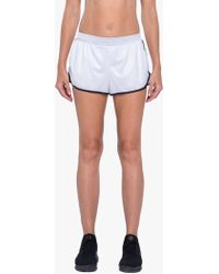 Koral - Scout Double Layer Short - White/black - Lyst