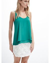 Krisa | Double Layer Cami Top | Lyst