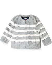 Kule - The Bailey Faux Fur Coat - Lyst