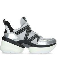 MICHAEL Michael Kors Olympia Sneaker - Black