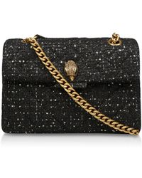 Kurt Geiger - Tweed Kensington X Bag - Lyst