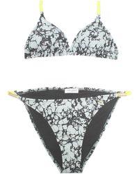 Kurt Geiger - Marble Print Bikini - Lyst