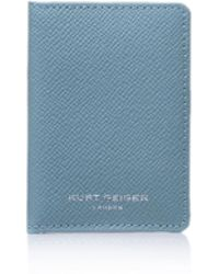 Kurt Geiger | New Saf Travel Cardholder In Turquoise | Lyst