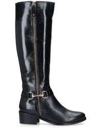 Carvela Kurt Geiger - Waffle Leather Boot - Lyst