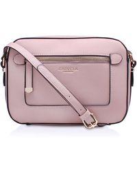 Carvela Kurt Geiger - Mia2 X Body Bag In Pale Pink - Lyst