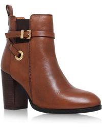 Carvela Kurt Geiger - Brown 'stacey' High Heel Ankle Boot - Lyst