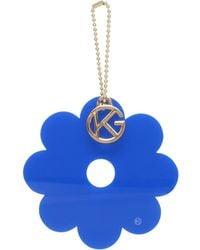 Kurt Geiger - Flower Charm In Blue - Lyst