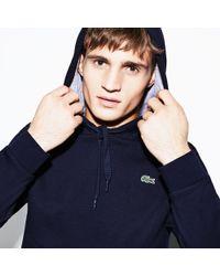 Lacoste - Sport Hooded Fleece Tennis Sweatshirt - Lyst