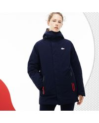 Lacoste - French Sporting Spirit Edition Reversible Quilted Parka - Lyst