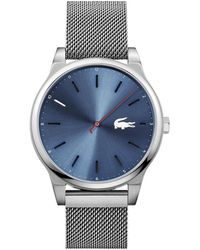 Lacoste - Kyoto Watch With Stainless Steel Mesh Bracelet - Lyst