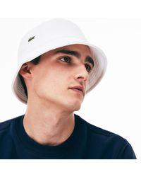 Lyst - Lacoste Sport Golf Wording Piqué Cap in Blue for Men ea23c2bd8bcb