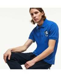 Lacoste - L.12.12 Disney Mickey Embroidery Petit Piqué Polo - Lyst
