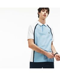 47d57d4d7 Lyst - Lacoste Made In France Short Sleeve Semi-fancy Polo