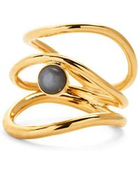 Lady Grey - Tide Ring In Gold - Lyst