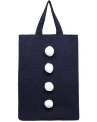 Hansel From Basel - Pom Pom Tote - Lyst