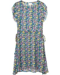 Girl by Band of Outsiders - Crinkle Chiffon Dress - Lyst