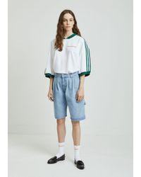 Gosha Rubchinskiy - Large Denim Shorts - Lyst
