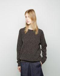 Christophe Lemaire - Seamless Shetland Sweater - Lyst