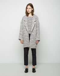 Apiece Apart - Vita Oversized Collar Coat - Lyst