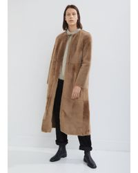 Yves Salomon - Reversible Lacon Fur And Leather Coat - Lyst
