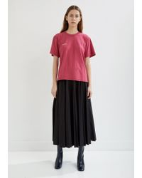 Vetements - Embroidered Inside-out Tee - Lyst