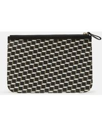 Pierre Hardy - Petite Maroquinerie Canvas Cube Pouch - Lyst