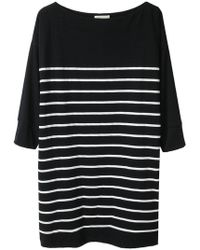 Boy by Band of Outsiders - Striped Tunic Dress - Lyst